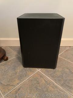 Black Display Pedestal