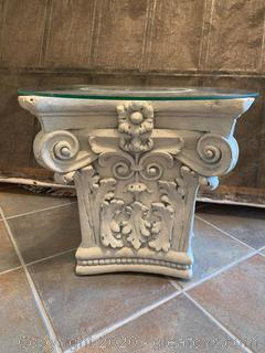 Composite Column Display Pedestal