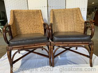 Rattan Chair Set A