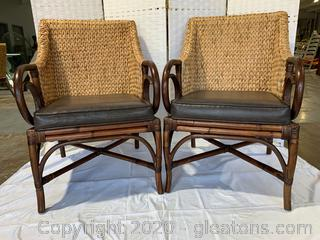 Rattan Chair Set C