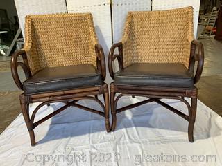 Rattan Chair Set D