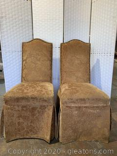 Pair of Parson Chairs
