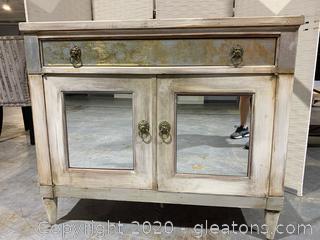 Antique Repurpose Bar Cabinet