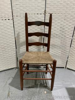 Ladder Back Cain Chair