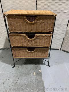 Rattan Storage Cabinet