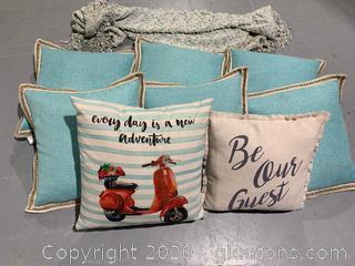 Collection Of Linen Pillows