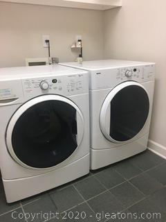 Kenmore Frontload Washer and Dryer