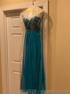 Sherri Hill Strapless Prom Dress