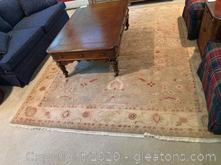 Large Hand knotted Area Rug
