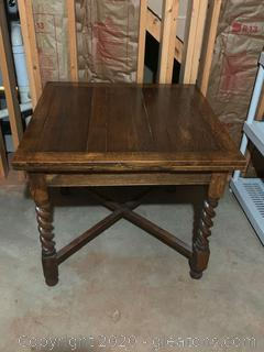 Vintage Drawleaf English Pub Table