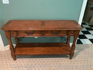 Balustrade Sofa/Console Table