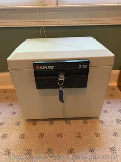 Sentry Model 2180 Fire-Safe Home Safe Chest