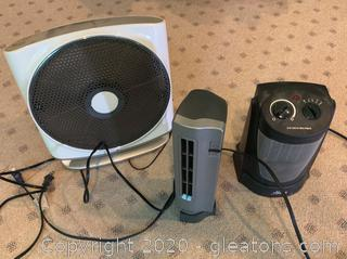 Collection of Small Space Heaters