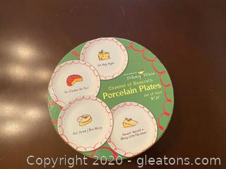 Cheeses of Nazareth Porcelain Plates
