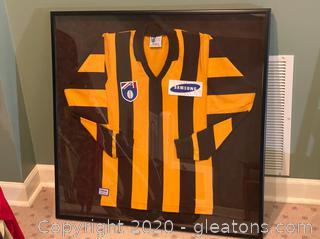 Australian Football League Jersey Shadow Box