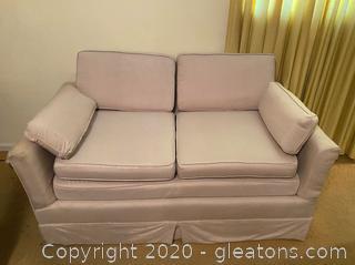 Vintage Double Cushion Sofa