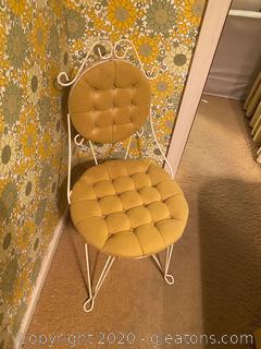 Vintage Teena Originals Mid-Century Café Vanity Chair
