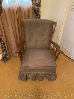 Vintage Victorian Rocking Chair