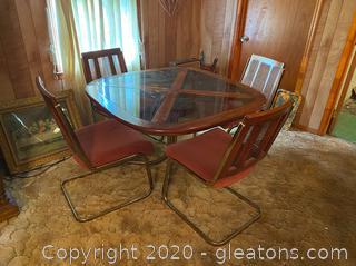 Vintage Chromcraft Dining Set