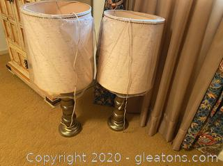 Vintage Large Table Lamps