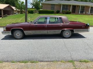 1991 Classic Cadillac Brougham one owner only 72k miles