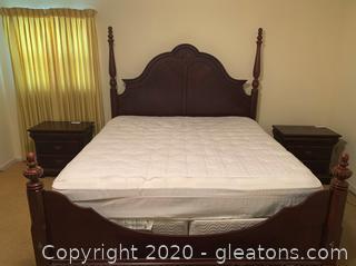 Universal Furniture King Sized Bed Frame
