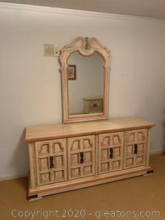 Stanley Furniture Dresser with Mirror
