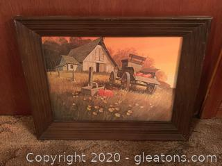 Bob Bates Framed Print