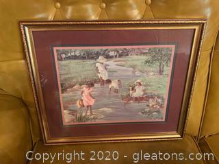 Ann Mount Framed Print
