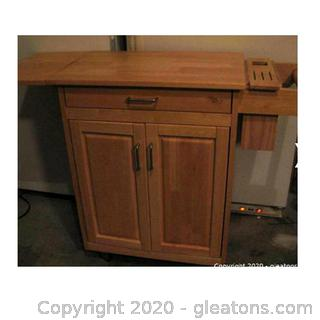 Home Styles Rolling Kitchen Island