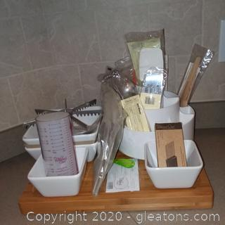 NEW Pampered Chef 15+ Item Lot