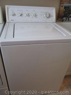 White Kenmore 90 Series Washer - Model # 110,26932691
