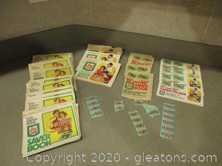 Vintage S+H Green Stamps 40 Booklets