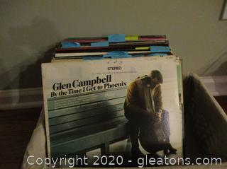 Vintage 33 RPM Vinyl Albums - 45 total