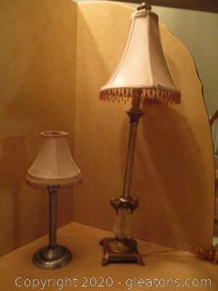Buffet Lamp & Candle Lamp
