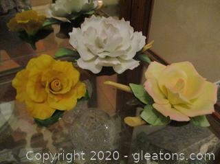 Fine Florals - 3 Piece Lot