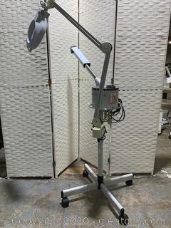 Facial Steamer + Magnifying Lamp