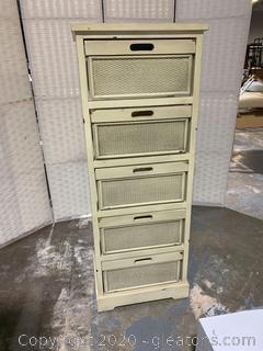 Farmhouse Lingerie Cabinet