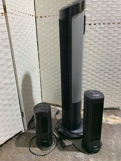 Seville Classic Tower Fan (A) Set of 3