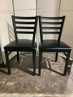 Pair of Black Chairs