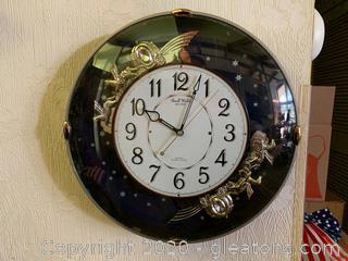 Small World Rhythm Quartz Wall Clock