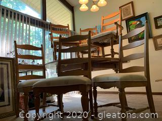 Kincaid Ducks Unlimited Dining Table and Chairs