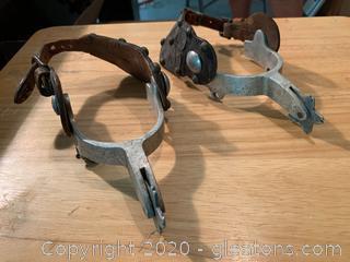 Renalde Cowboy Boot Spurs