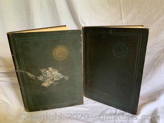 Pair of 1925 High School Year Books