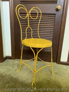 Retro Ice Cream Parlor Chair (B)