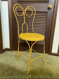 Retro Ice Cream Parlor Chair (B)