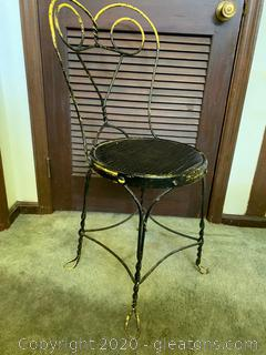 Retro Ice Cream Parlor Chair (A)