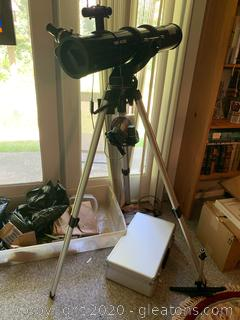 Meade Telescope with Stand Spion Magnifier with Case