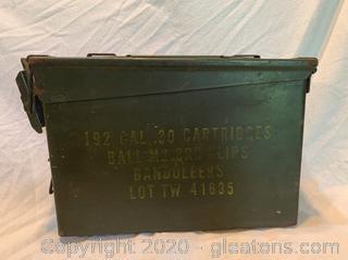 World War II Ammo Box