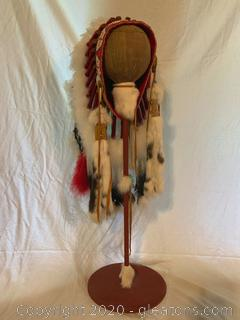 Faux Native American Head Dress